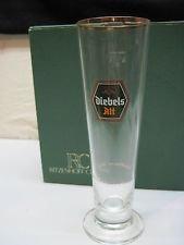 Unbekannt Diebels Alt Bier Glas Pokal mit Goldrand 0,2L 5 Stück