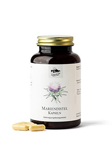 KRÄUTERHANDEL SANKT ANTON® - Mariendistel Kapseln - 500 mg Mariendistel Extrakt - Hochdosiert -...