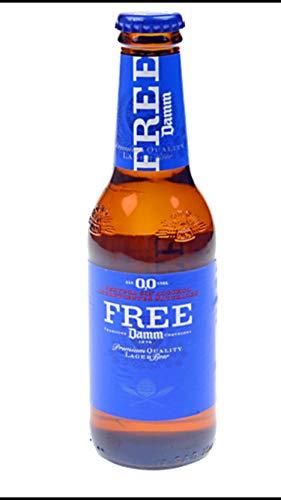 12 x Estrella Free DAMM Alkoholfrei 0,0, 250 ml