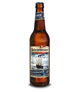 10 Flaschen Störtebeker Pilsener Bier a 0,5L Brauspezialitäten 4.9% Vol.inc. 0.80€ MEHRWEG Pfand