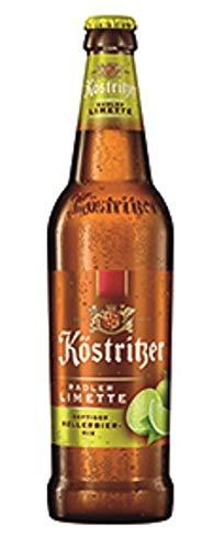 11 Flaschen Köstritzer Radler Limette (11 x 0.5 l) inc. EINWEG Pfand Limette