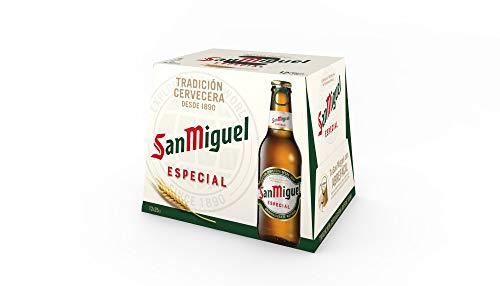 Bier San Miguel Especial 12x25cl (Box 12 Flaschen)