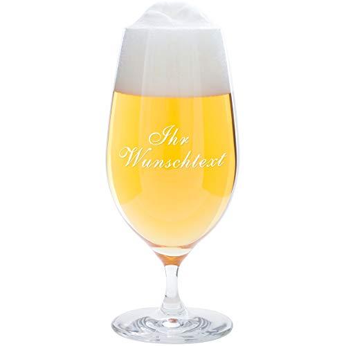 Geschenke 24 Bierglas mit Gravur zum Vatertag - 0,3 Liter Leonardo - graviertes Pilsglas -...