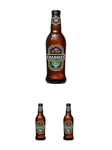 Crabbies original Ginger Bier 0,33 Ltr. + Crabbies original Ginger Bier 0,33 Ltr. + Crabbies...