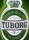 20 Flaschen a 0,5L Tuborg Pilsener Orginal inc. 1.60€ MEHRWEG Pfand 4,9% Vol. Denmark