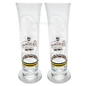 Radeberger Gläser Set - 2xBiergläser Glas Pils Bier - geeicht 0,2l