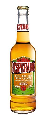 Desperados, Bier mit Tequila, 5,9% Vol. Alk, Einwegflasche - 0.33L