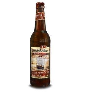 10 Flaschen Störtebeker Hanse Porter CARAMELIG MALZIG a 0,5L Brauspezialitäten 4.0% Vol.inc....
