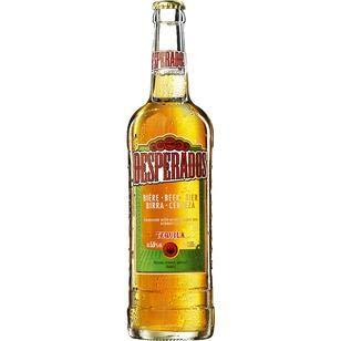 12 Flaschen große Orginal Desperados a 0,65l incl. 1.80€ MEHRWEG Pfand Bier Flavoured with...