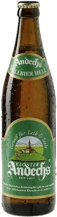 Andechser Vollbier Hell 18 Flaschen x0,5l