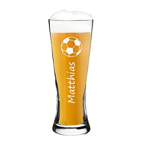 polar-effekt Modernes Weizenbierglas Personalisiert mit Gravur - Weizenglas - Geschenk-Idee zum...