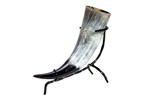 Trinkhorn ca. 400-490 ml 0,4-0,49l inkl. Tischständer