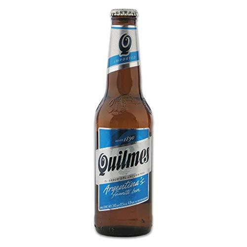Quilmes Cerveza Pilsener Argentinien Bier 6 x 0,34 Liter