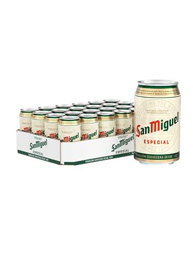 San Miguel Especial Dose DPG Bierpaket, EINWEG (24 x 0.33 l)