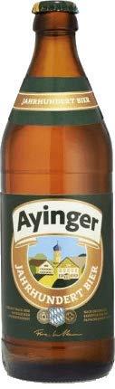 Ayinger Jahrhundert Bier 18 Flaschen x0,5l