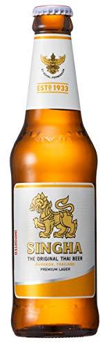 Singha - Thai Bier ORGINAL PREMIUM IMPORTED - 24er Pack (24 x 330ml)