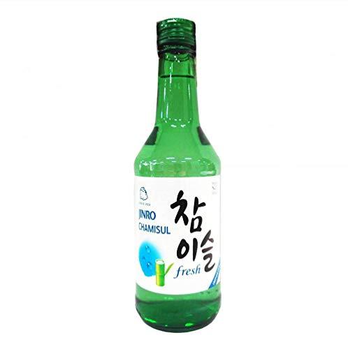 [ 350ml ] HITEJINRO Soju Jinro Chamisul Fresh / Spirituose Alc. 17,8% vol. / Korea