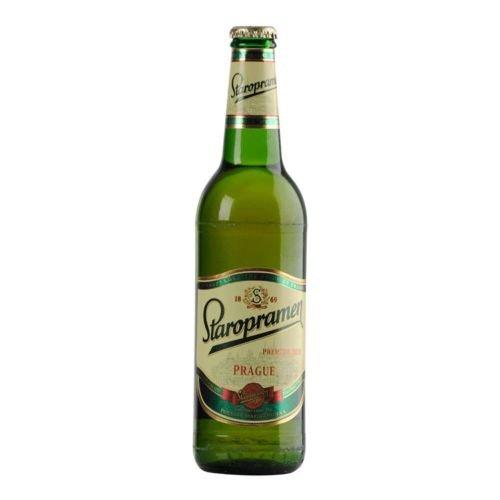 20 Flaschen Staropramen Lager Bier a 0,5L Prag inc. 1.60€ MEHRWEG Pfand
