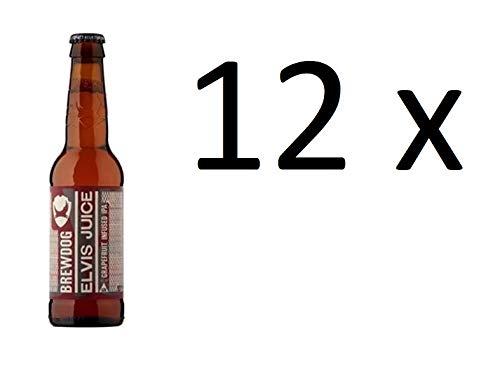 Brewdog Elvis Juice Grapefruit Infused IPA P 12 Flaschen x 330ml 6,5% Vol. inc. Mehrweg Pfand