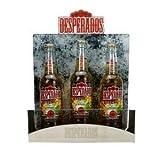Desperados Flaschen-Halter, 3x Desperados Flasche 0,33L (5,9% Vol) + Flaschenhalter für 3 Flaschen...