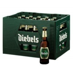 24 Flaschen Diebels Alt Altbier a 0,33 Liter Bier inc. 1,92€ MEHRWEG Pfand
