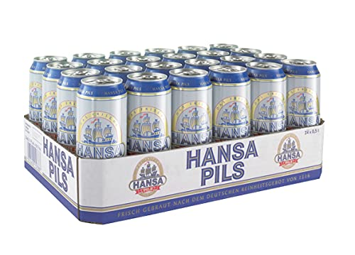 Hansa Pils, EINWEG 24x0,50 L Dose