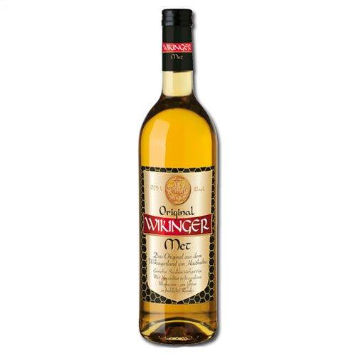 Original Wikinger Met Behn Honigwein 11,0% Vol. in der Flasche (2x 0,75l = 1,5l Met)