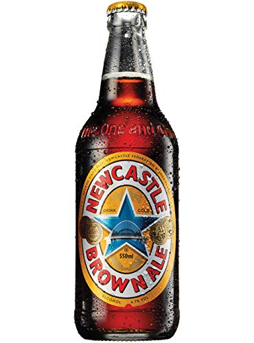 1 Flasche Newcastle Brown Ale a 0,55L Bier England New Castle