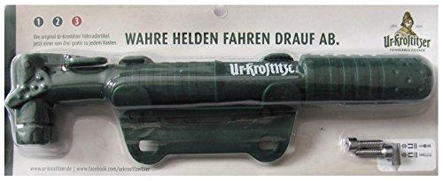 Ur Krostitzer Brauereri - Fahrrad Luftpumpe mit Halterung