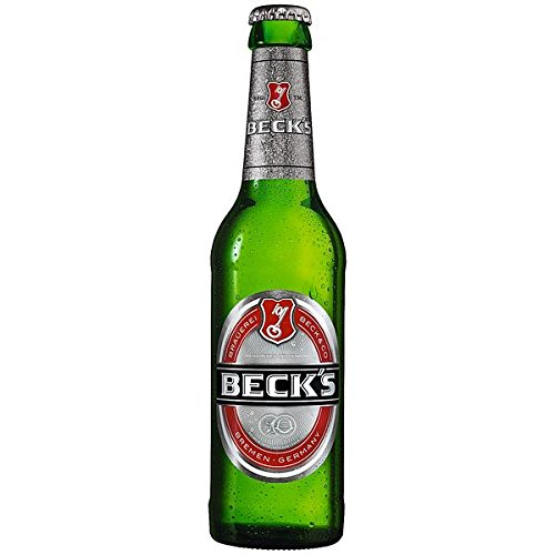 12 Flaschen a 0,33l Beck´s Bier inc. 0.96€ MEHRWEG Pfand 4,9% Vol.