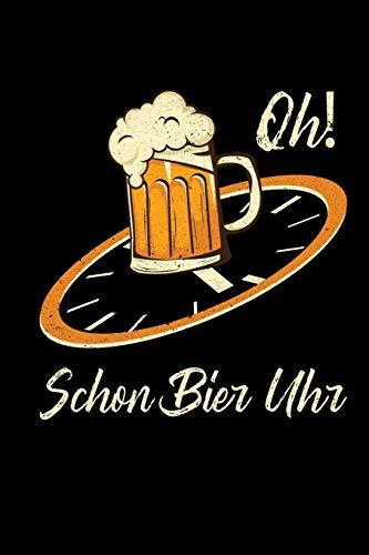 Bier Uhr: Wochenplan A5 | Bierliebhaber Bierkenner Geschenk | Brauer Humor Witz Bier Bewertungsbuch...