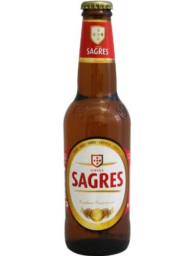 Sagres - Bier aus Portugal 0,33 l Flasche (1 x 0,33 l)