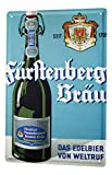 LEotiE SINCE 2004 Blechschild Bier Retro Deko Fürstenberg Seit 1705 Partykeller Fun Wand Deko 20X30...