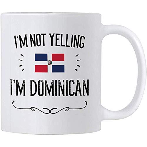 Lustige Dominikanische Republik-Geschenke. Ich schreie nicht, dass ich dominikanische...