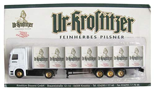 UR-KROSTITZER Brauerei Nr.07 - Feinherbes Pilsner - MB Actros - Sattelzug