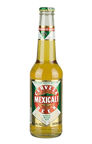 6 Flaschen Cerveza MEXICALI Pilsener Superior, 5% vol Bier aus Mexiko