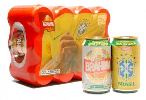 BRAHMA Bier 12 x Dose Cerveja do Brasil