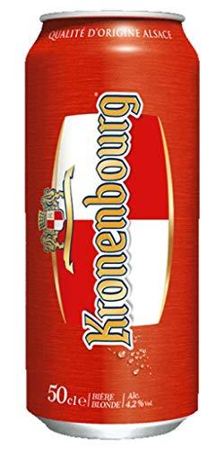 Kronenbourg 50cl (pack de 12 canettes)