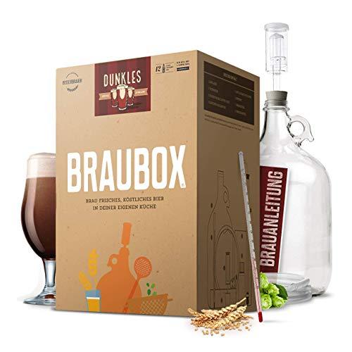 Braubox®, Sorte Dunkles | Bierbrauset zum Bier brauen in der Küche | mit Erfolgsgarantie von...