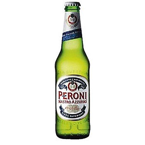 Peroni Nastro Azzurro 330ml Einzelflasche (Packung mit 24 x 330 ml)