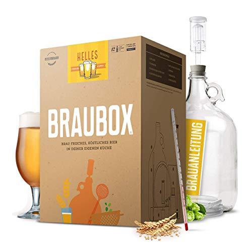 Braubox®, Sorte Helles I Bierbrauset zum Bier brauen in der Küche I mit Erfolgsgarantie von...