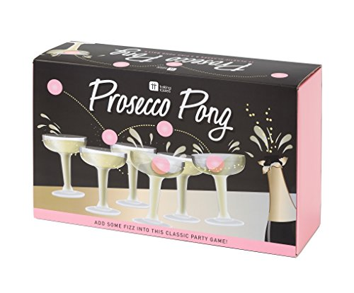 Talking Tables The Original Prosecco Pong Party Game; Witziges Trinkspiel, Alternative zu Bier-Pong...