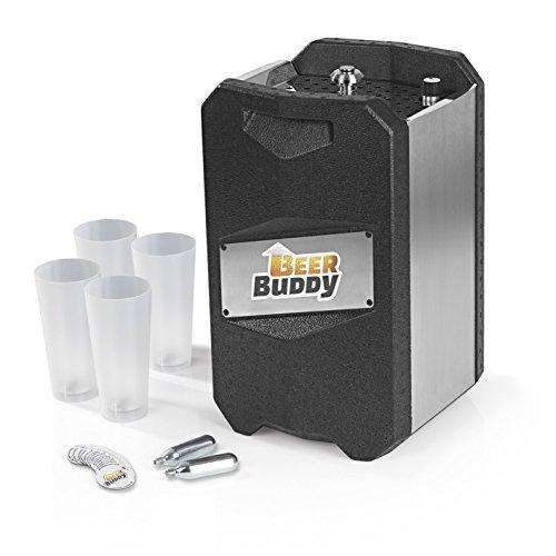 Beer Buddy Neue Version 2018 Bottoms Up-Bierzapfanlage ohne Strom für alle handelsüblichen 5 Liter...