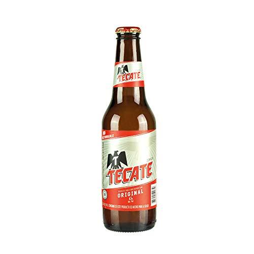 5 Flaschen Cerveza TECATE, 4,5% vol Bier aus Mexiko