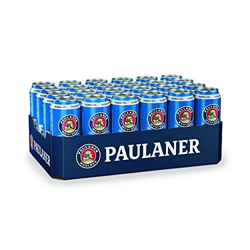 Paulaner Weißbier Alkoholfrei 0,0%, 24er Dosentray, EINWEG (24 x 0,5l)