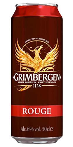 Grimbergen Rouge 50cl (pack de 12 canettes)