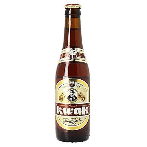 Original belgisches Bier - KWAK Bier - Pauvel Kwak- 4 x 330ml.für BBQ und Party!!