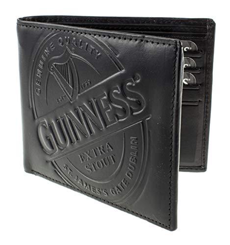 Guinness Black Label Geldbörse, Leder, Einheitsgröße, Schwarz