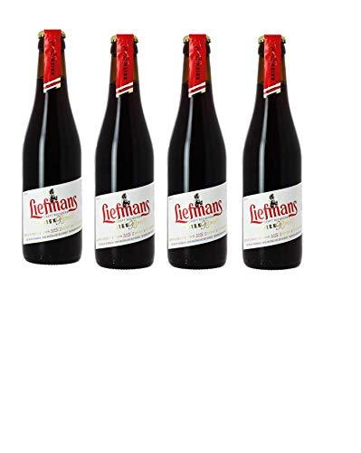 4 Flaschen Liefmans Kriek brut a 250ml 6% Vol. mit Sauerkirschsaft inc. 0.48€ MEHRWEG Pfand