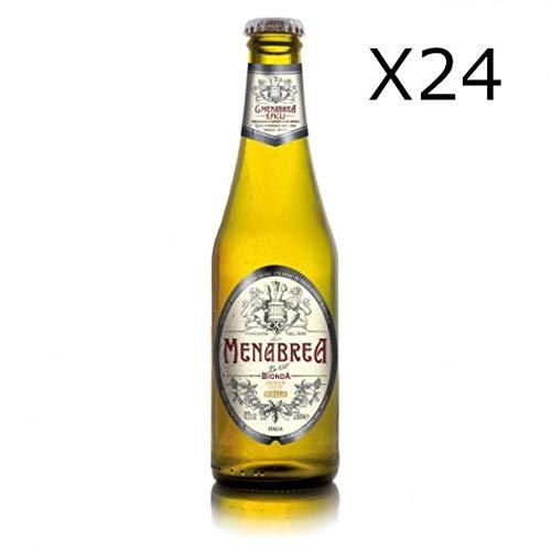 MENABREA Menabrea Blondes Bier 24 x 33 cl